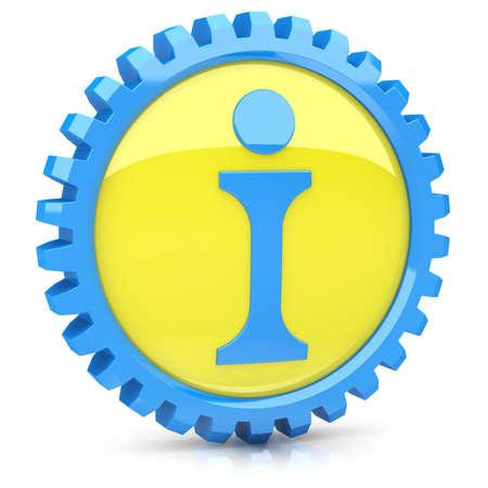 Info icon Stock Photo - 14259365