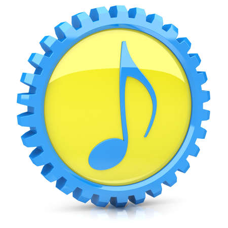 Music icon Stock Photo - 14259364