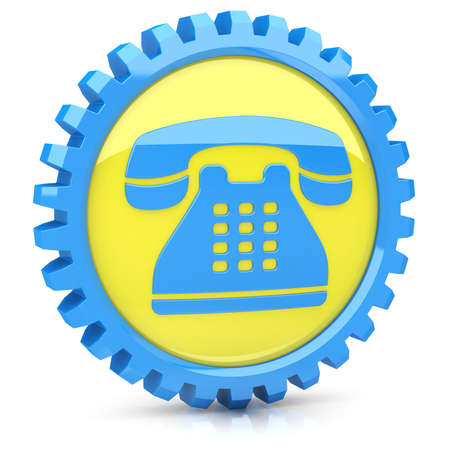 Phone icon Stock Photo