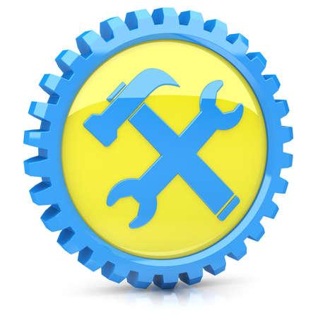 Service icon Stock Photo - 14259378