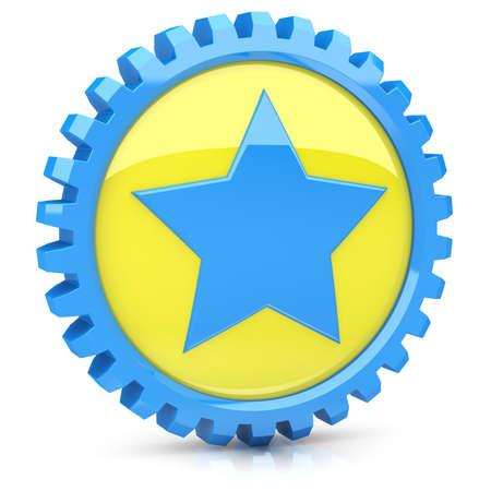 значок звезда: