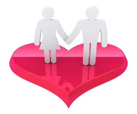 Love concept Stock Photo - 14676845