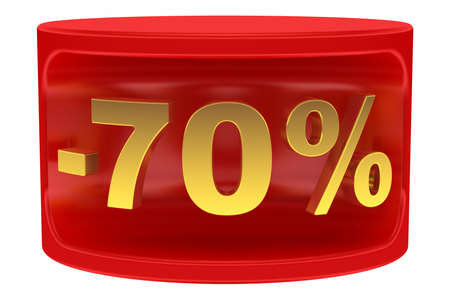 Sale sticker -70%