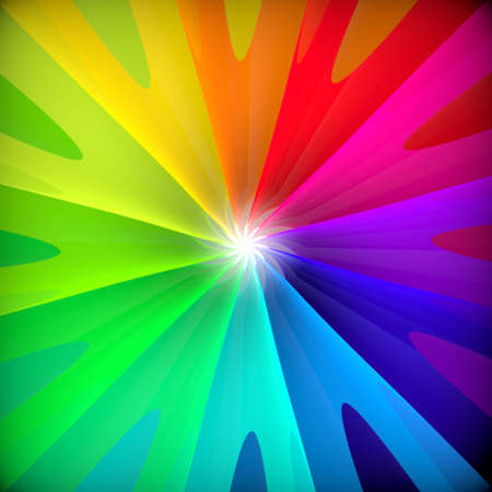 Resumen de flores de fondo colorido del remolino 3d
