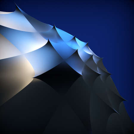 futurictic: Abstract background  3d illustration