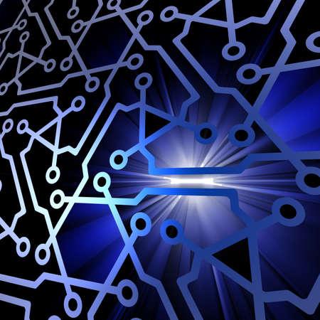 Fondo de tecnolog?a abstracto