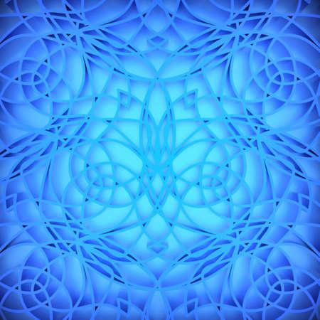 Resumen de fondo azul. Generado por ordenador 3D. Foto de archivo