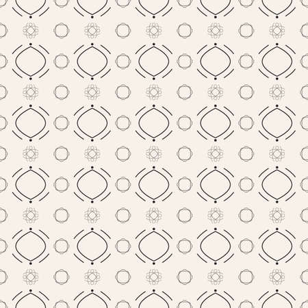 Seamless abstract geometric pattern. Ideal for backgrounds, textures and print.