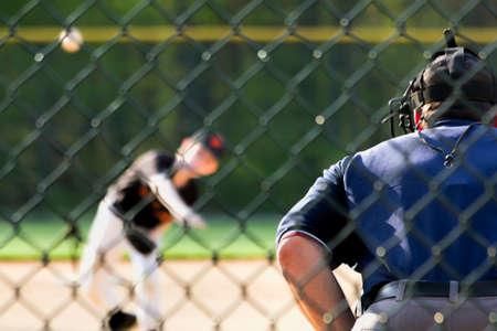 umpire: Baseball Pitcher and Umpire