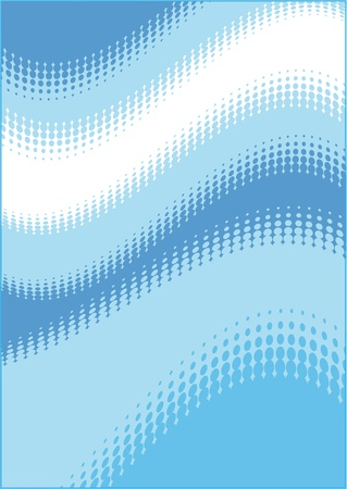 Abstract Blue Dot Background