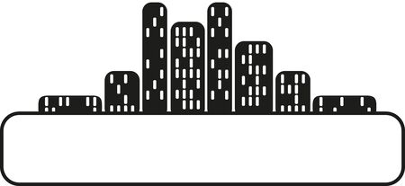 City Silhouettes Text Field