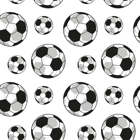 Seamless Football Repeating Background