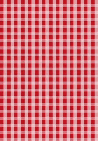 Red Seamless Grid Pattern Background