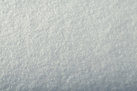 Snow surface, created by milions of small ice crystals.