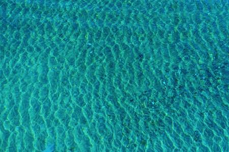 Sunlight Reflection in Blue Water.