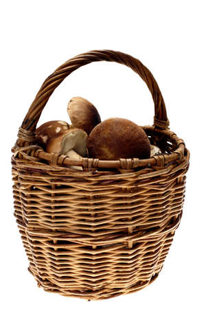 cepe: Cepe on basket Stock Photo