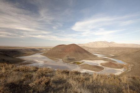 crater lake: Meke crater lake in Turkey