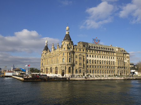 kadikoy: Haydarpa?a Terminal is a terminus main station of the Turkish Railways at the Anatolian part of Istanbul, Turkey. Built in 1906. Editorial