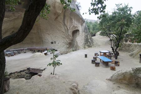 troglodyte: Old troglodyte house, Cappadocia, Turkey