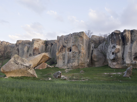 large formation: The other name is Lion Sanctuary.Snake stone.Phrigia Valley.