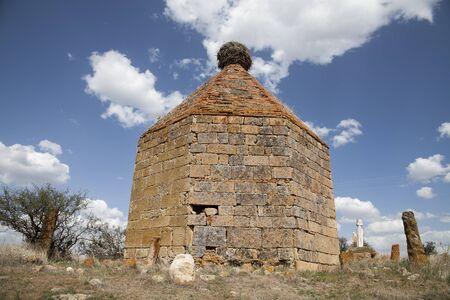 phrygian: Himmet Baba dome in Kumbet village,Eskisehir