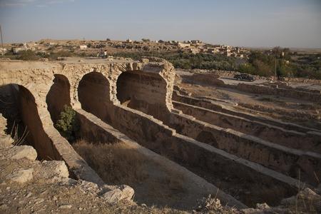 cisterna: cisterna de agua en Dara Ancient City, de Mardin