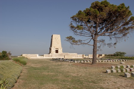 allied: Memorials to all the fallen soldiers and sailors from Allied forces that fought in Gallipoli campaign in First World War
