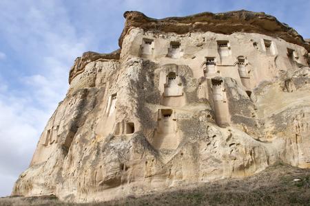 soil erosion: Rock formations in Goreme National Park. Cappadocia, Turkey