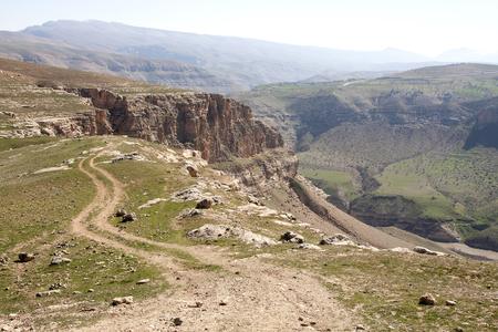 Botan valley in Siirt province, Turkey. Stock Photo