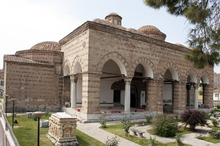 Old ottoman building, Nicea Archaeological Museum, built in 1388, Turkey Iznik museum are the most interesting places in Iznik Town, 에디토리얼