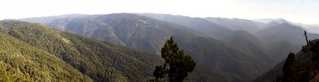 panaromic photo of Ida Mountain-Kaz Daglari in Turkey. (in Turkish: Kazdagi, meaning Goose Mountain)..Ida Mountain has endemic plants and trees .