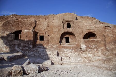 Dara is a historical ancient city located on the Mardin, Turkey
