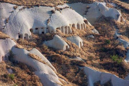 Rock formations in Goreme National Park. Cappadocia, Turkey