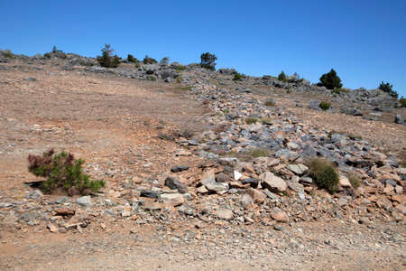 Ida Mountain-Kaz Mountains in Turkey. (in Turkish: Kazdagi, meaning Goose Mountain), Turkey. Beautiful nature..Ida Mountain has endemic plants and trees. 版權商用圖片