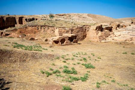 Dara is a historical ancient city located on the Mardin. Mesopotamia Dara Ancient City Ruins. (Mardin - Turkey)