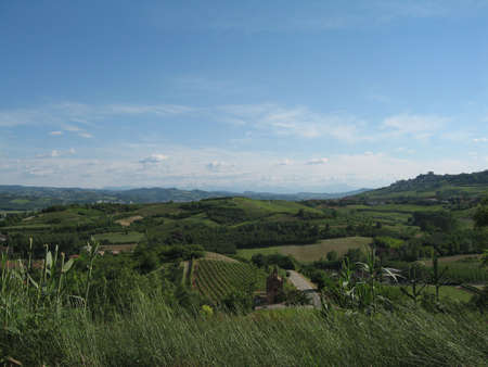 View from Magliano (Italy)