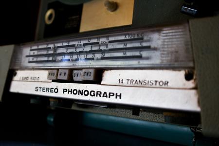 equipo de sonido: transistor estéreo