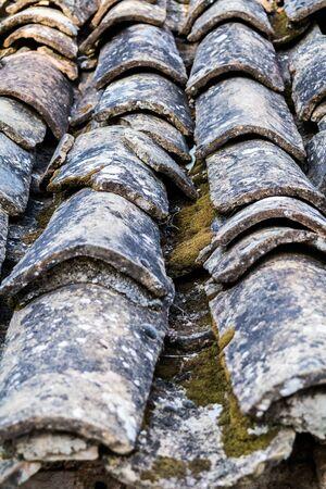 housetop: Old housetop Stock Photo