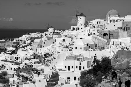 oia: Oia black and white