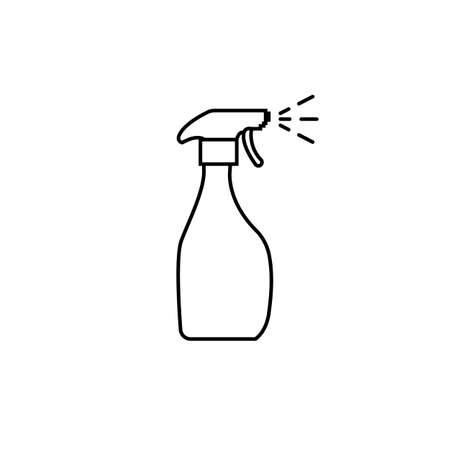 Spray icon. Isolated vector illustration