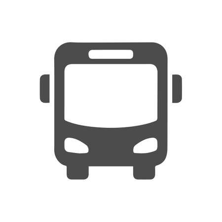 bus icon, isolated vector illustration. web design element.