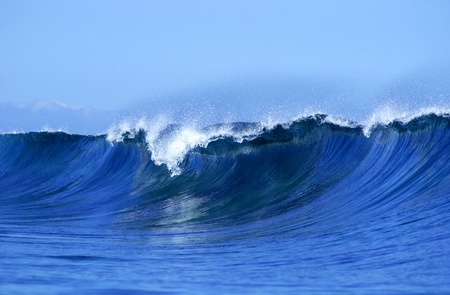 Een mooie en tropische golf in Fiji