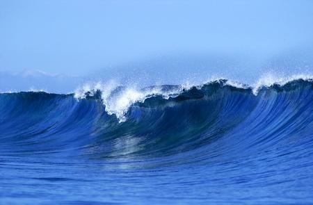 Una ola hermosa y tropical en Fiyi Foto de archivo