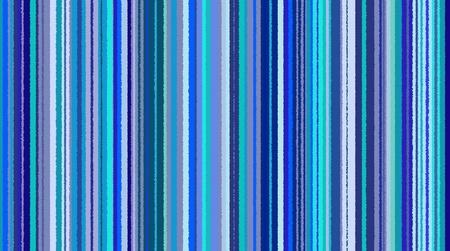 Naadloze gestreepte achtergrond met verschillende tinten blauw Stockfoto