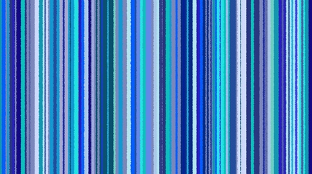 Seamless striped background with different shades of blue