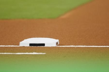 base en el campo de b�isbol en el estadio