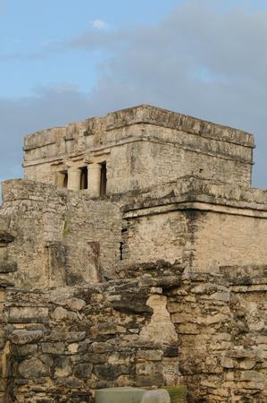 cultura maya: Templo religioso de la cultura maya Foto de archivo