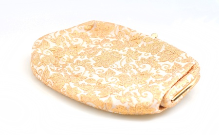 vintage purse with gold embroidery for a pretty accessory