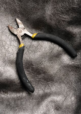 snips: wire snips on gray background with nobody