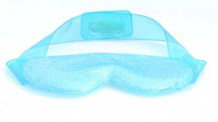 blauw oog masker voor spa behandeling Stockfoto